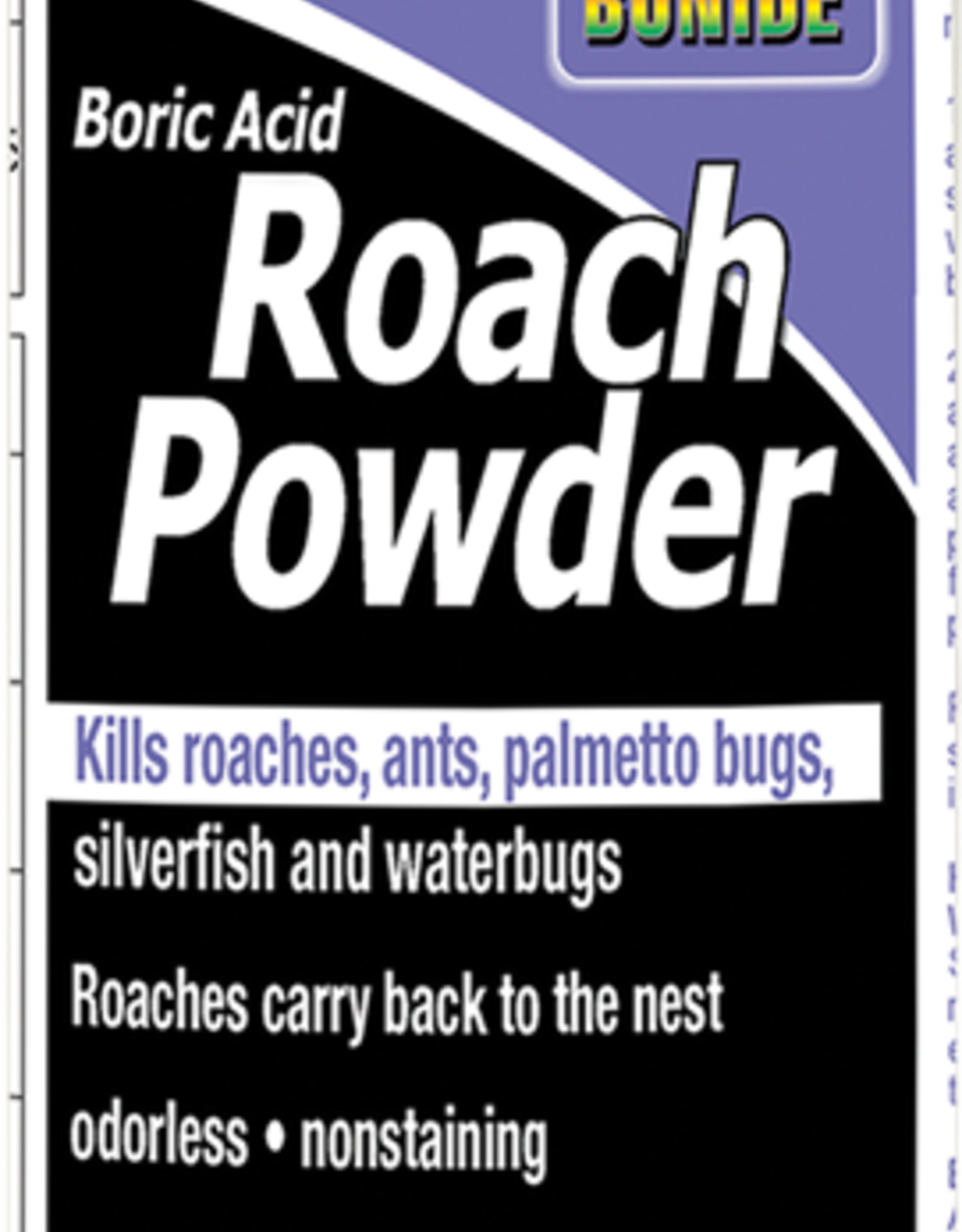 BONIDE PRODUCTS INC     P BONIDE BORIC ACID ROACH POWDER 1LB