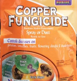 BONIDE PRODUCTS INC     P BONIDE COPPER FUNGICIDE DUST OR SPRAY 4LBS