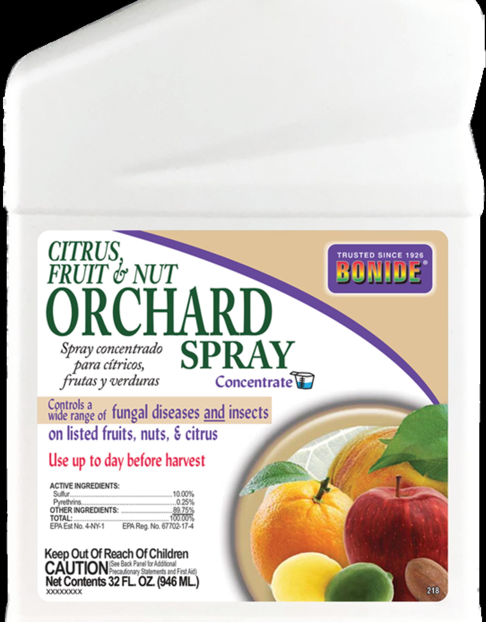 BONIDE PRODUCTS INC     P BONIDE CITRUS FRUIT & NUT ORCHARD SPRAY CONC 32OZ