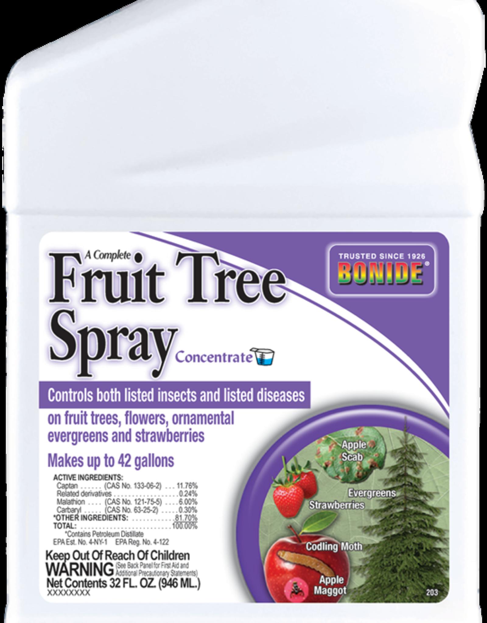 BONIDE PRODUCTS INC     P BONIDE FRUIT TREE SPRAY CONC 32OZ