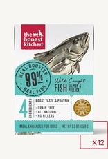 THE HONEST KITCHEN HONEST KITCHEN DOG BOOSTER SALMON & POLLOCK MEAL 5.5OZ BOX OF 12
