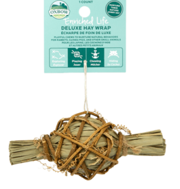 OXBOW PET PRODUCTS OXBOW DELUXE HAY WRAP discontinued pvff