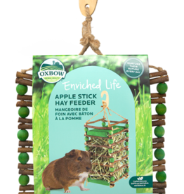 OXBOW PET PRODUCTS OXBOW APPLE STICK HAY FEEDER DISCONTINUED PVFF