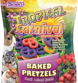 F.M. BROWNS INC - PET TROPICAL CARNIVAL BAKED PRETZEL TREAT