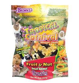 F.M. BROWN'S SONS, INC. TROPICAL CARNIVAL FRUIT AND NUT TREAT 8OZ