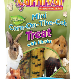 F.M. BROWNS  PET TROPICAL CARNIVAL MINI CORN ON THE COB TREAT
