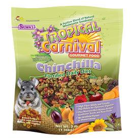 F.M. BROWNS  PET TROPICAL CARNIVAL NATURAL CHINCHILLA 3#