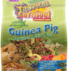 F.M. BROWNS  PET BROWN'S TROPICAL CARNIVAL NATURAL GUINEA PIG 4LBS