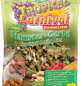 F.M. BROWNS  PET BROWN'S TROPICAL CARNIVAL NATURAL HAMSTER AND GERBIL 2LBS