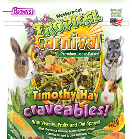 BROWN'S TROPICAL CARNIVAL TIMOTHY HAY CRAVEABLES 24OZ