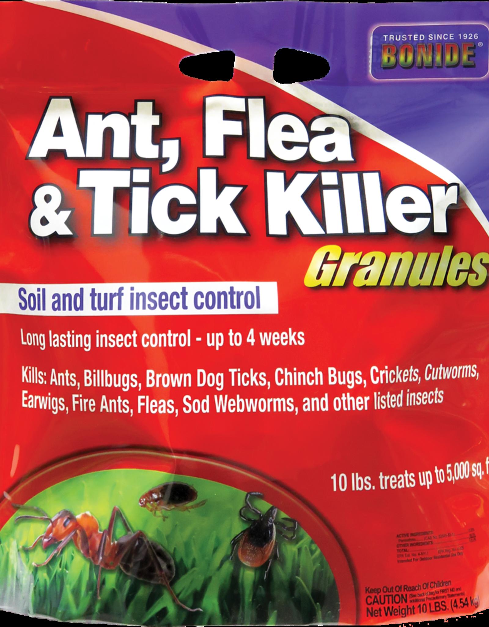 BONIDE PRODUCTS INC     P BONIDE ANT FLEA & TICK GRANULES 10LBS
