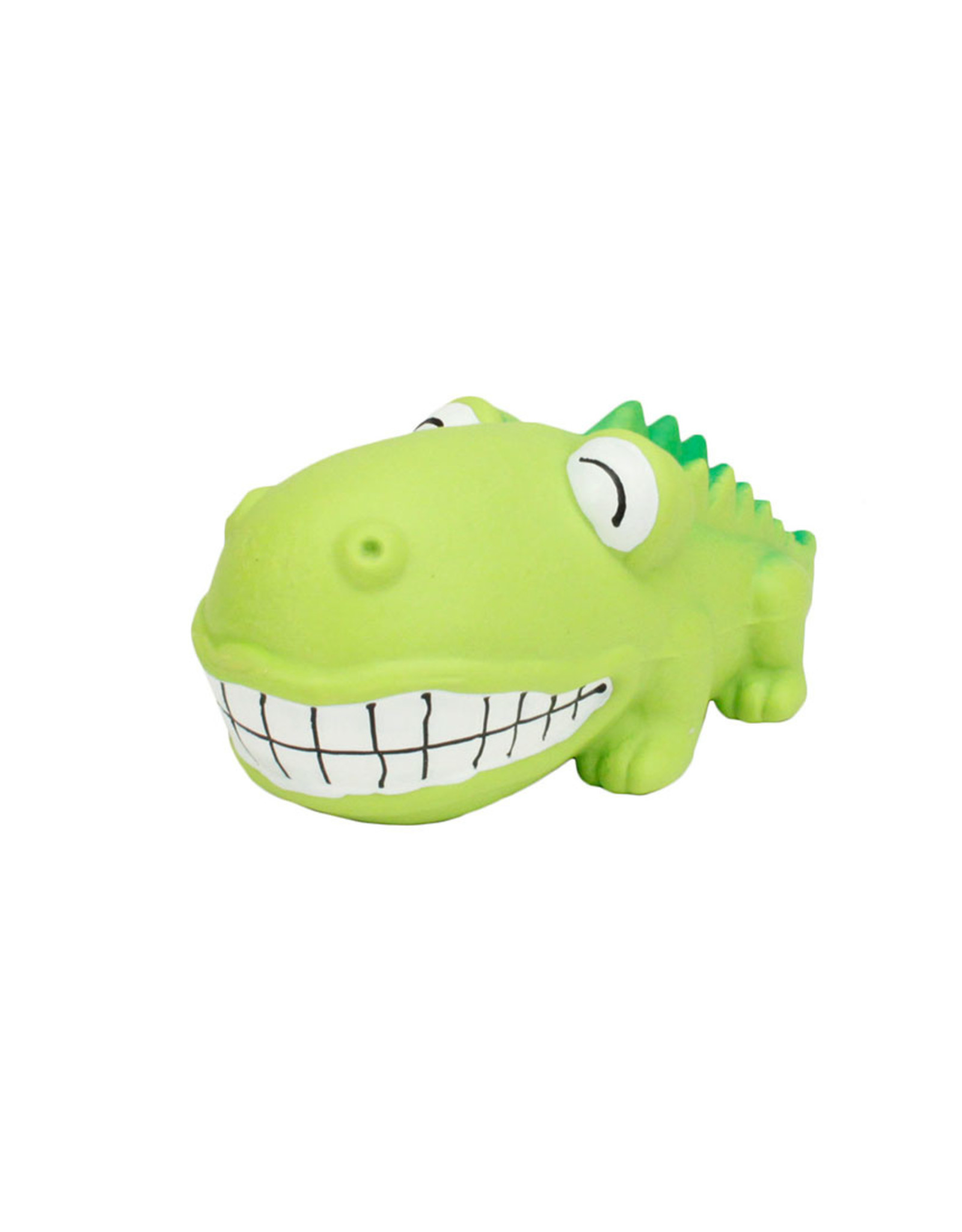 COASTAL PET PRODUCTS INC DOG TOY CSTL LATEX RASCAL GRUNTS BIG HEAD GATOR