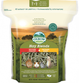 OXBOW PET PRODUCTS OXBOW HAY BLENDS TIMOTHY & ORCHARD GRASS 20OZ