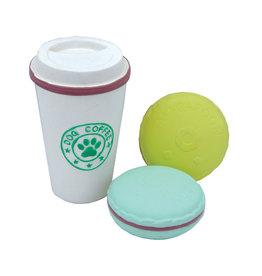 COASTAL PET PRODUCTS INC DOG TOY CSTL LI'L PALS LATEX COFFEE & TREATS