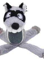 COASTAL PET PRODUCTS INC DOG TOY CSTL LI'L PALS PLUSH RACOON W/TENNIS BALL