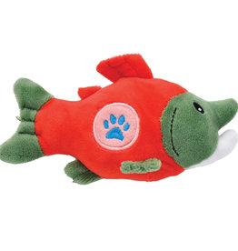 COASTAL PET PRODUCTS INC DOG TOY CSTL LI'L PALS PAW PLUSH SALMON