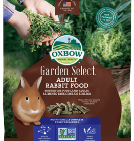 OXBOW PET PRODUCTS OXBOW GARDEN SELECT ADULT RABBIT 4LBS