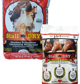 ABSORBENT PRODUCTS LTD. STALL DRY ABSORBENT & DEODORIZER FOR SMALL ANIMALS JUG 6#