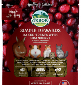 OXBOW PET PRODUCTS OXBOW SIMPLE REWARD CRANBERRY 3OZ