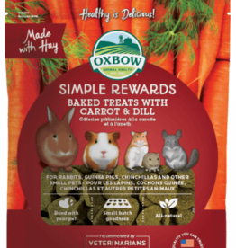 OXBOW PET PRODUCTS OXBOW SIMPLE REWARD CARROT & DILL 2OZ