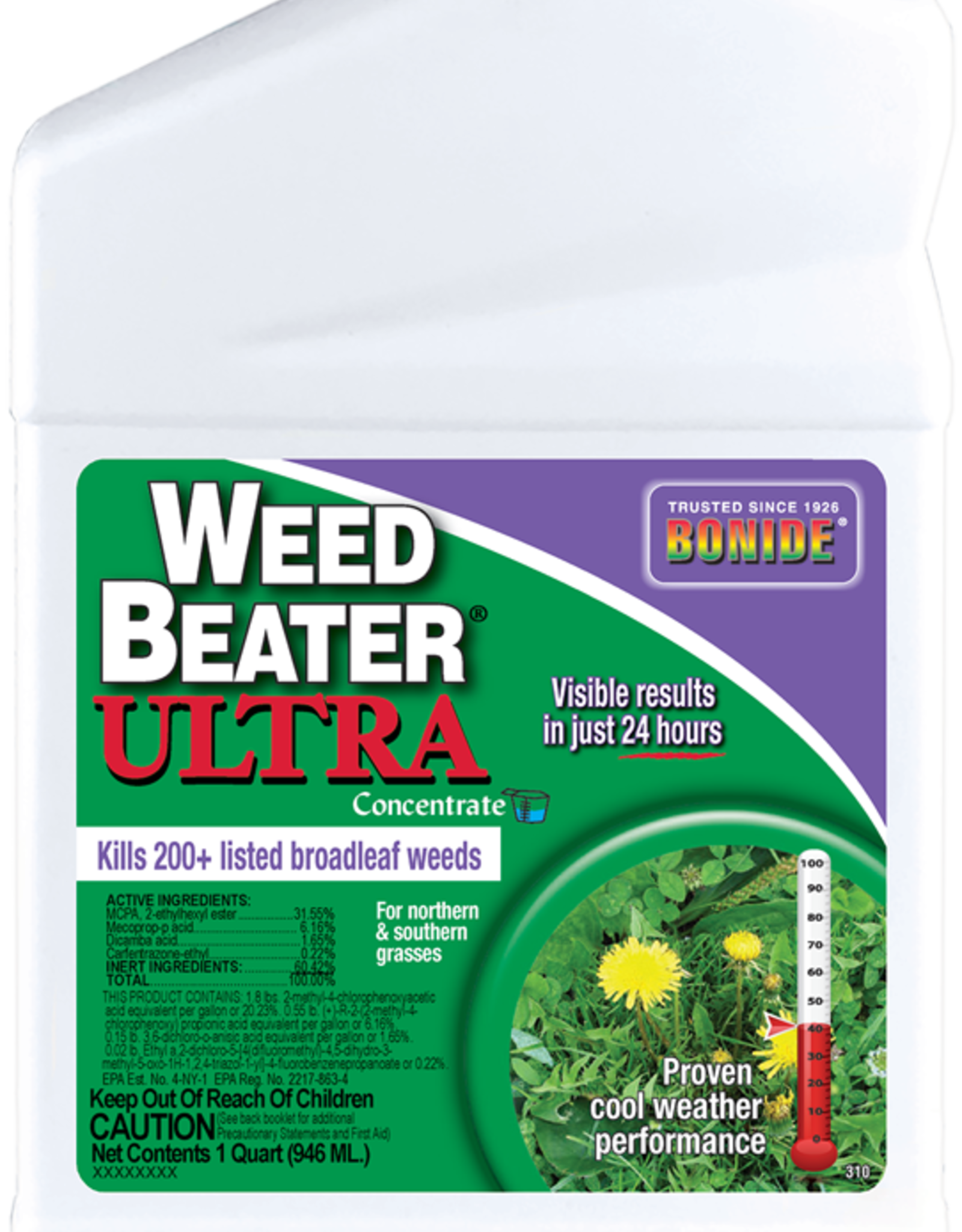 BONIDE PRODUCTS INC     P BONIDE WEED BEATER ULTRA CONC 32OZ