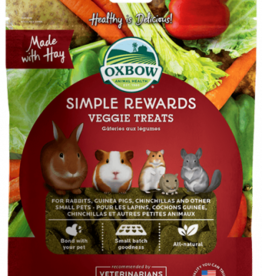 OXBOW PET PRODUCTS OXBOW SIMPLE REWARD VEGGIE TREATS 2OZ