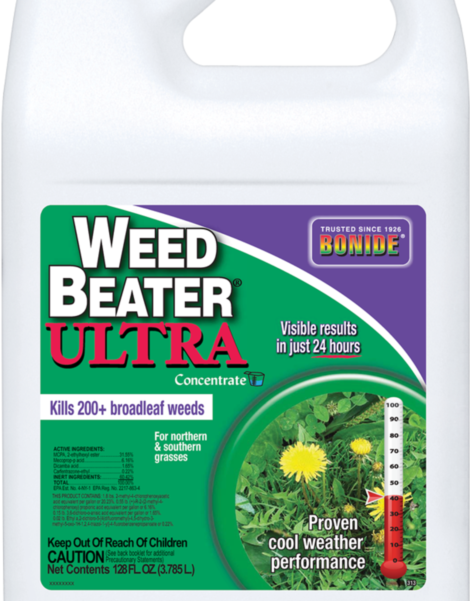 BONIDE PRODUCTS INC     P BONIDE WEED BEATER ULTRA CONC GAL