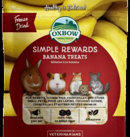 OXBOW PET PRODUCTS OXBOW SIMPLE REWARD BANANA TREATS 1OZ