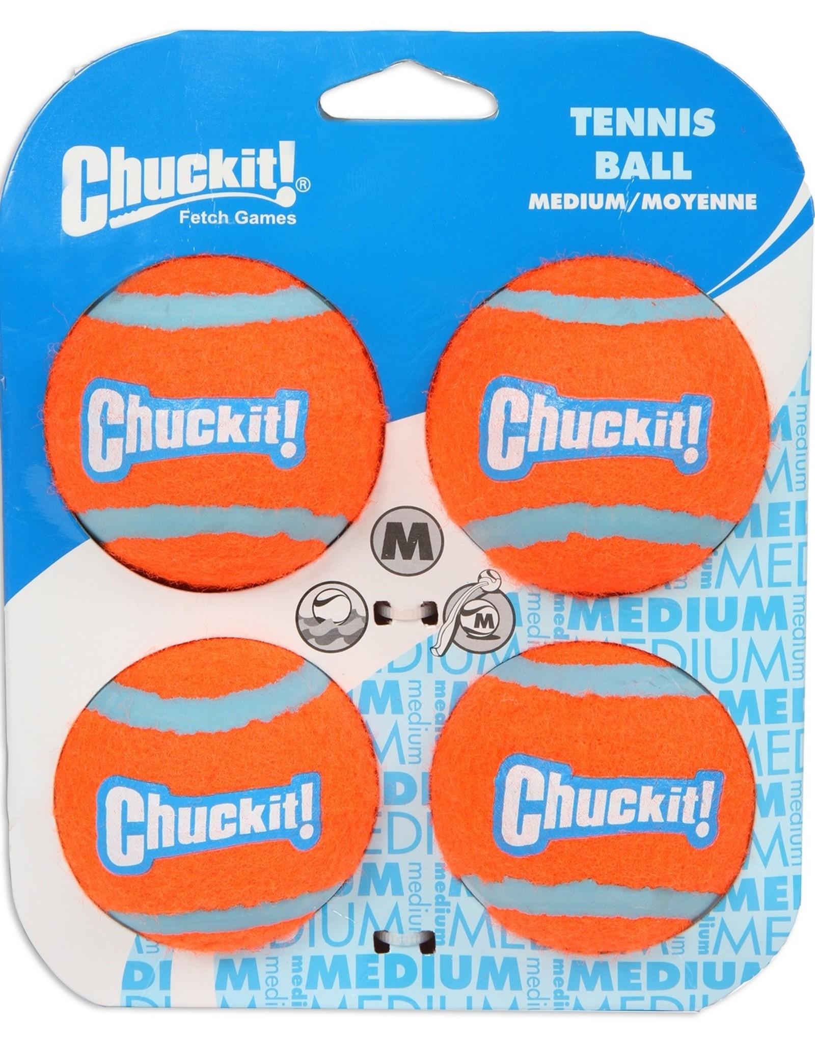 CHUCK IT TENNIS BALL 4CT