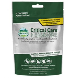 OXBOW PET PRODUCTS OXBOW CRITICAL CARE APPLE/BANANA 1LB