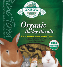 OXBOW PET PRODUCTS OXBOW ORGANIC BARLEY BISCUIT 2.65OZ