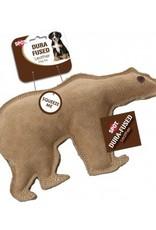 ETHICAL PRODUCTS, INC. DOG TOY DURA FUSED LEATHER BEAR LRG