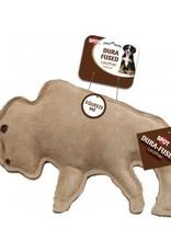 ETHICAL PRODUCTS, INC. DOG TOY DURA FUSED LEATHER BUFFALO LRG