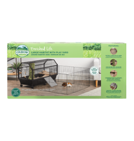 OXBOW PET PRODUCTS OXBOW LG HABITAT W/ PLAY YARD
