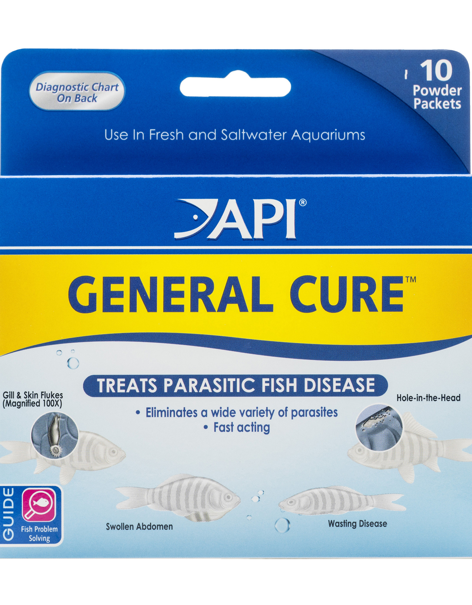 MARS FISHCARE NORTH AMERICA IN API GENERAL CURE POWDER PACKETS