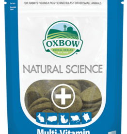 OXBOW PET PRODUCTS OXBOW NATURAL SCIENCE MULTI  VITAMIN SUPP 60CT