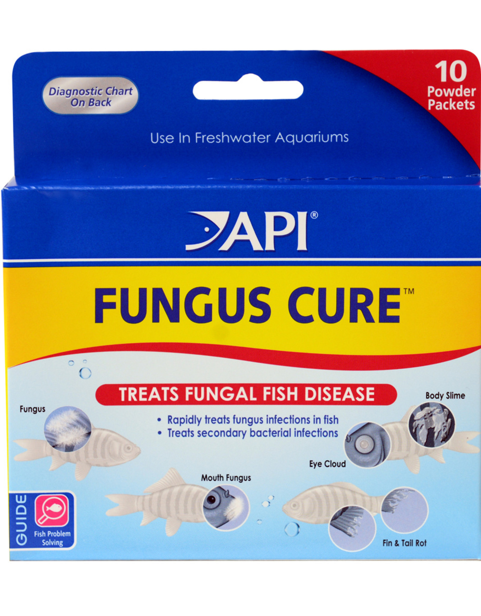 MARS FISHCARE NORTH AMERICA IN API FUNGUS CURE POWDER PACKETS