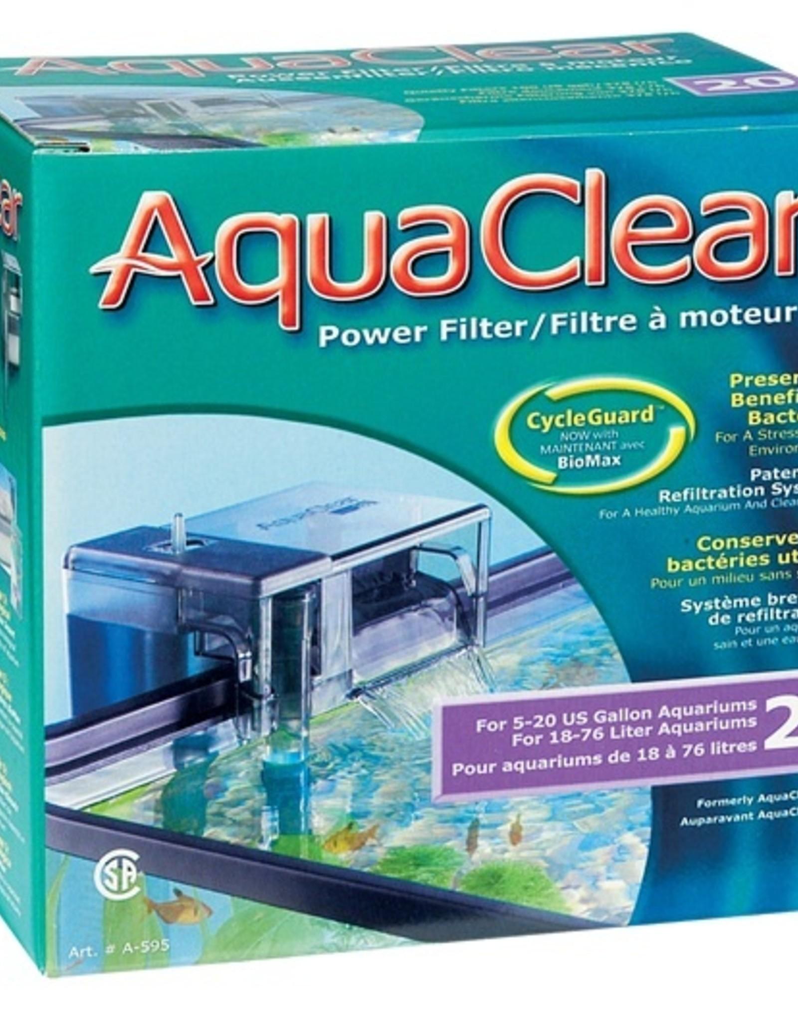 HAGEN AQUA CLEAR 20 (MINI) 100 GPH FILTER