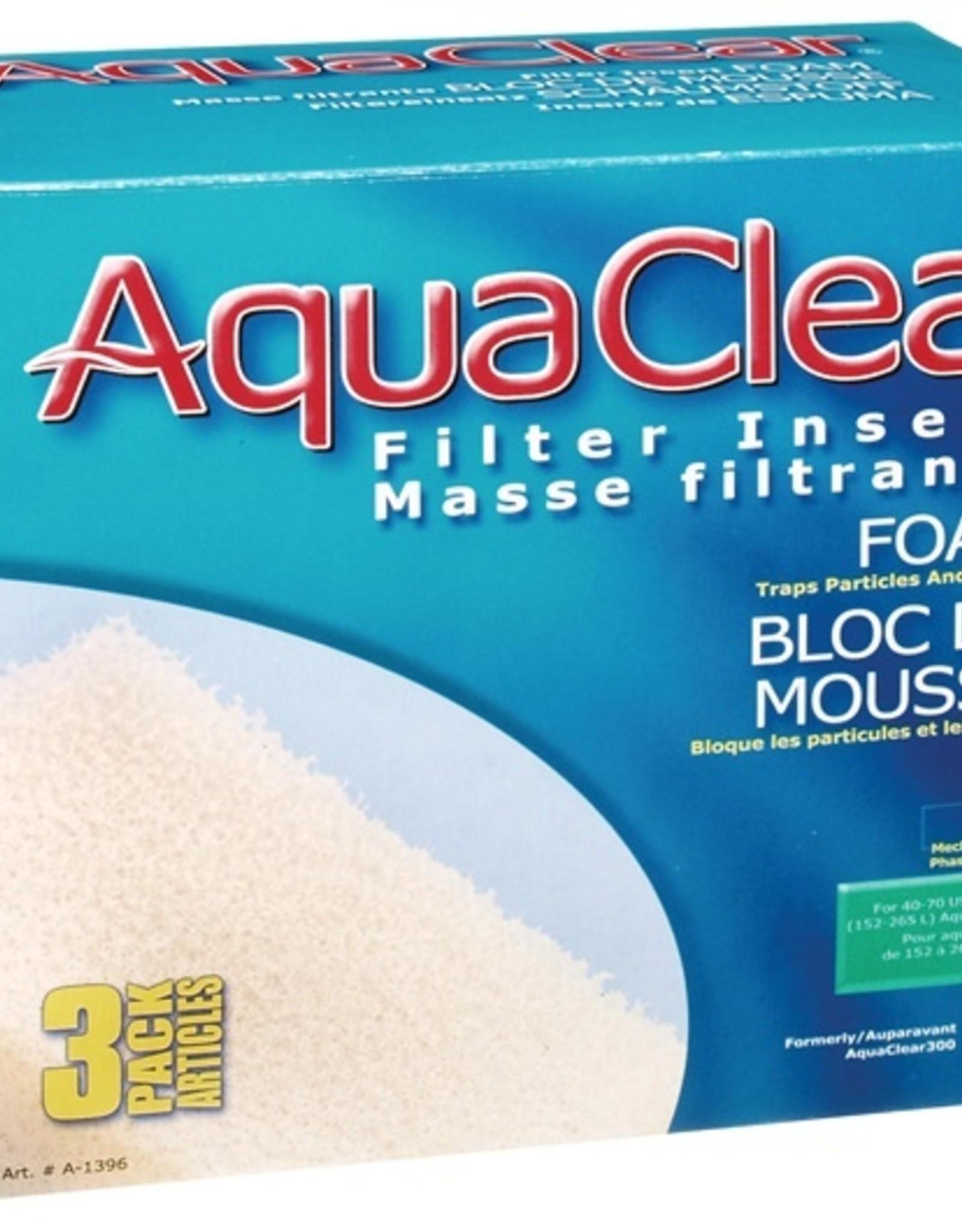 HAGEN AQUA CLEAR 70 3PK FOAM