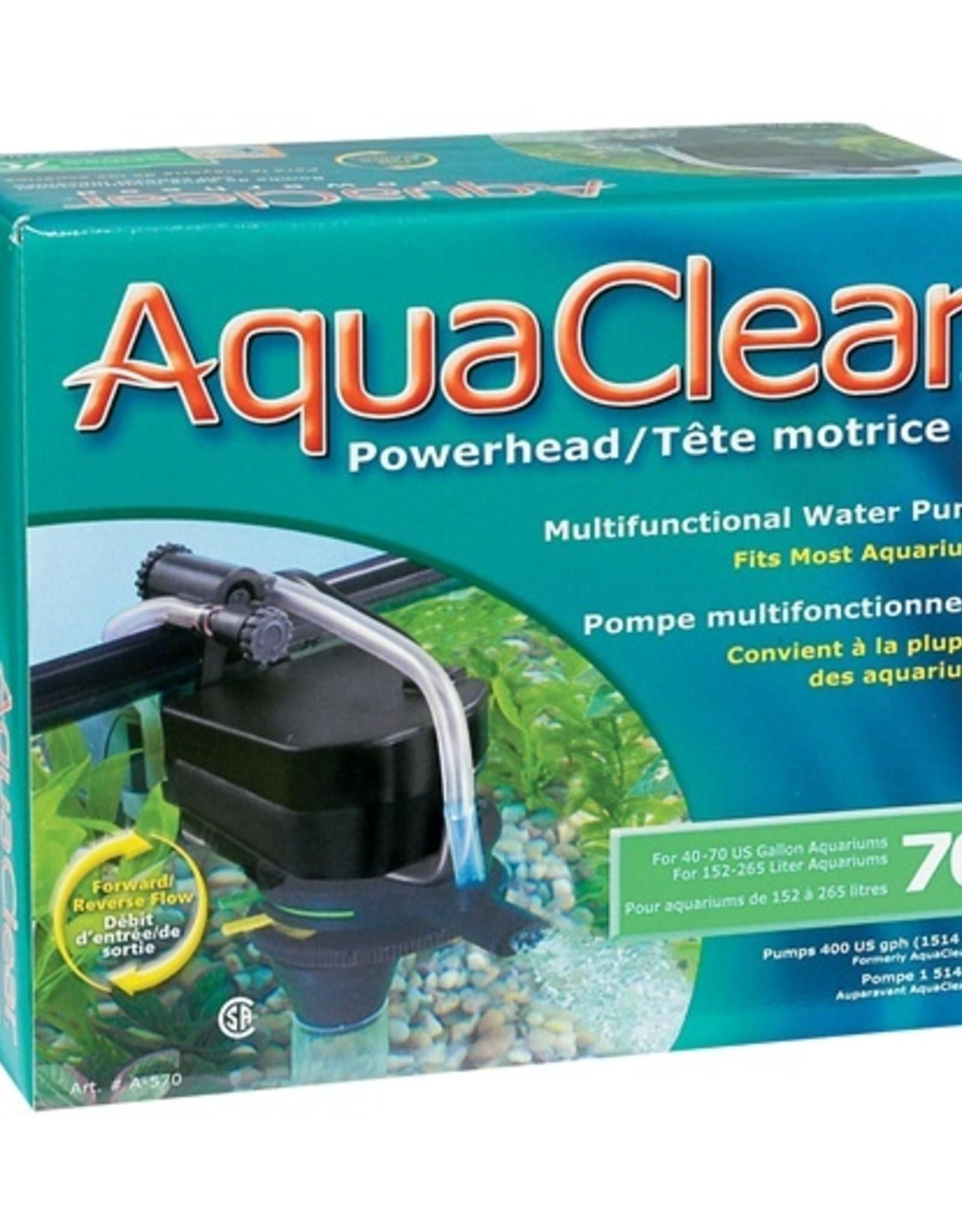 HAGEN AQUA CLEAR 70 400GPH POWER HEAD REVR
