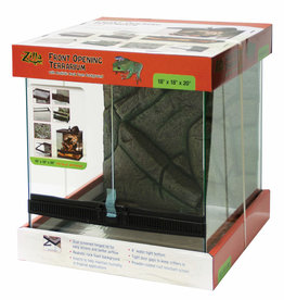 AQUEON PRODUCTS - GLASS ZILLA FRONT OPEN TERRARIUM 18X18X20