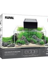HAGEN FLUVAL EDGE AQUARIUM BLACK 6GAL