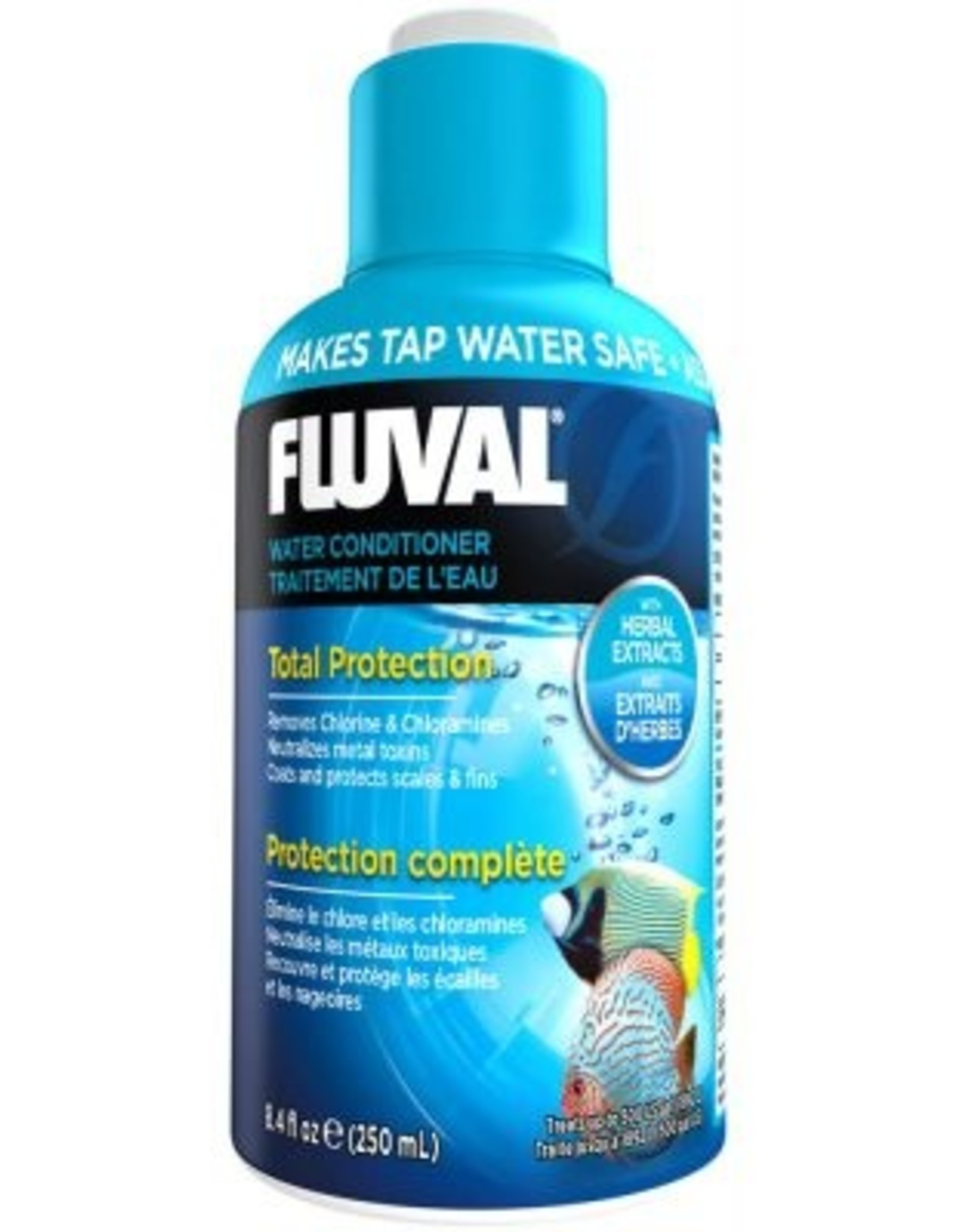 HAGEN FLUVAL AQUA PLUS WATER CONDITIONER 8.4OZ