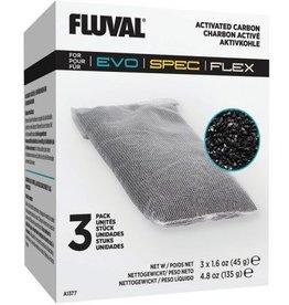 FLUVAL FLUVAL REPLACEMENT CARBON 3PK