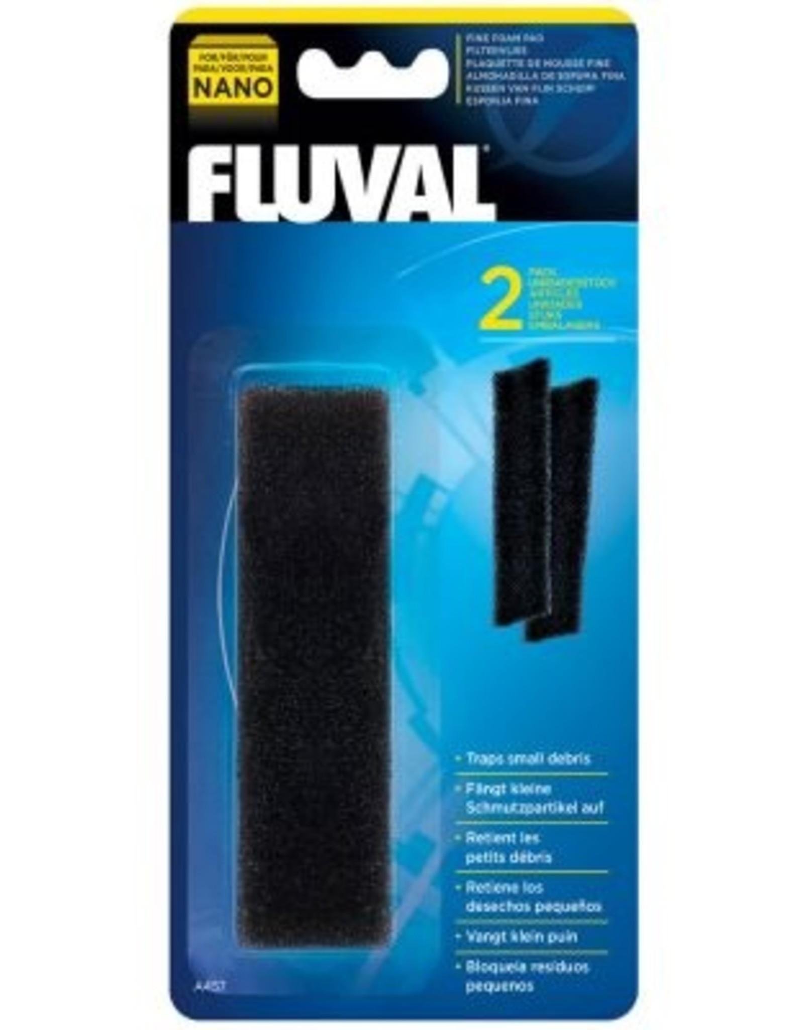 HAGEN FLUVAL NANO FINE-FOAM 2PK