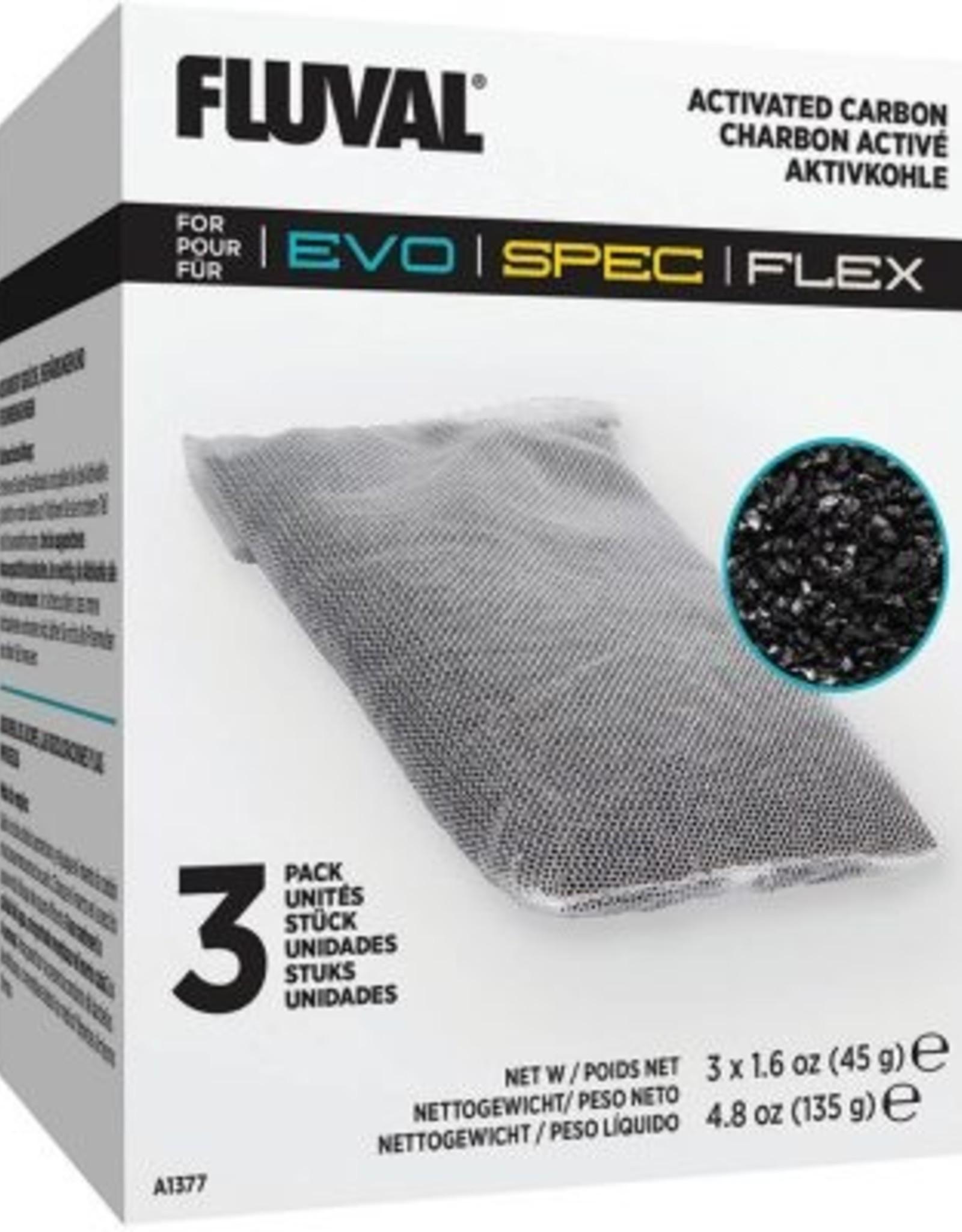 HAGEN FLUVAL SPEC/FLEX/EVO CARBON 3 PK