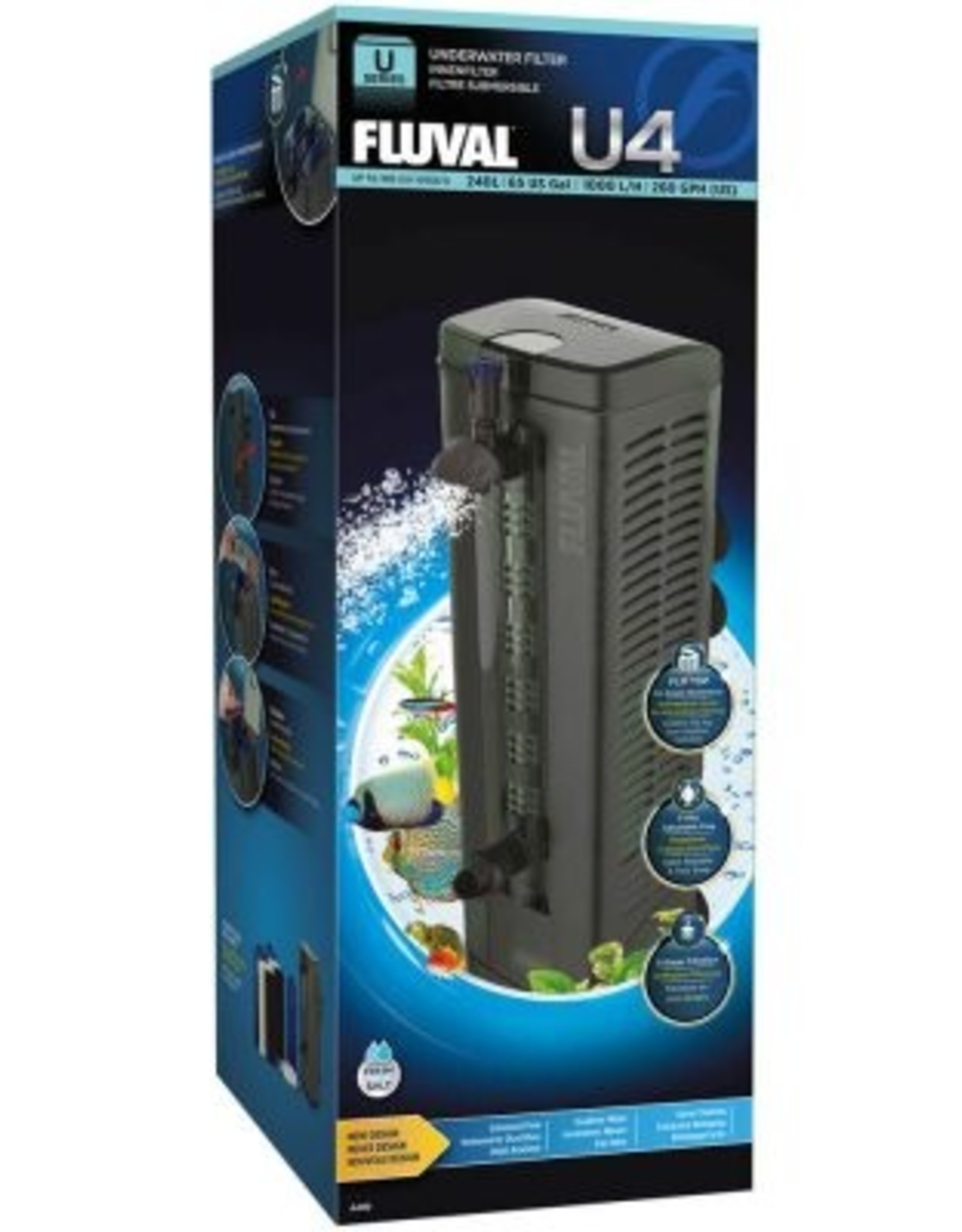 HAGEN FLUVAL U4 UNDERWATER FILTER 6.5 GAL