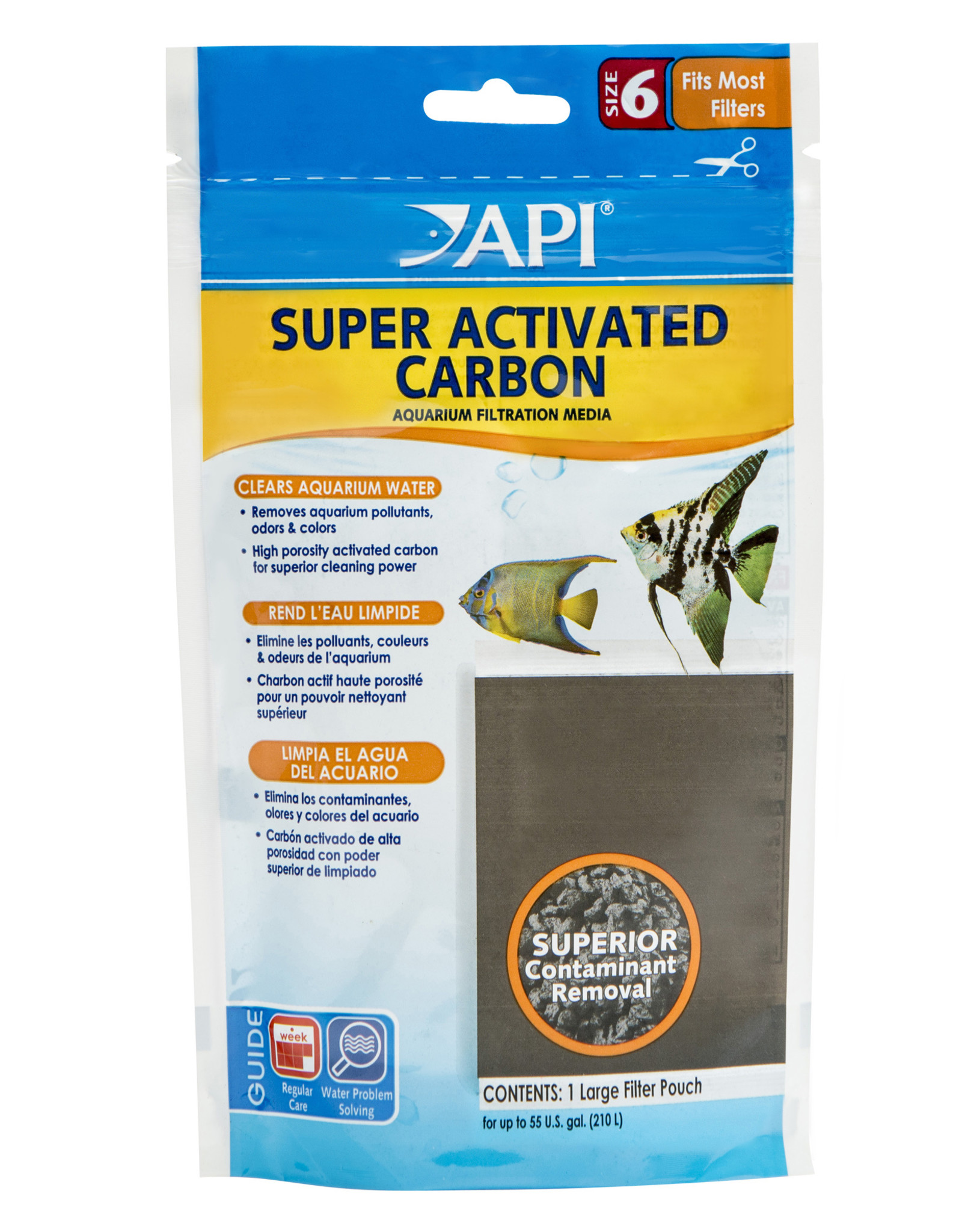 MARS FISHCARE NORTH AMERICA IN API SUPER ACTIVATED CARBON
