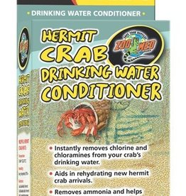ZOO MED LABS INC ZOOMED HERMIT CRAB DRINKING WATER CONDITIONER (PART 1)