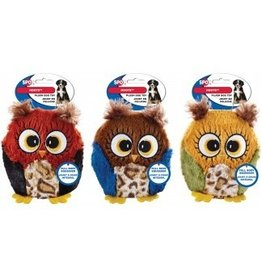 """ETHICAL PRODUCTS, INC. SPOT HOOTS OWL PLUSH SQUEAKER DOG TOY 4.75"""""""